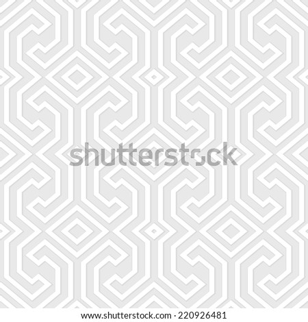 Seamless vintage gray pattern. Ethnic vector geometric textured background from Sulawesi island, Indonesia. - stock vector