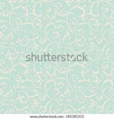 seamless vintage pattern - stock vector