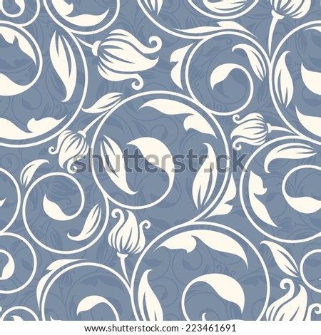 Seamless  Vintage Pattern. - stock vector