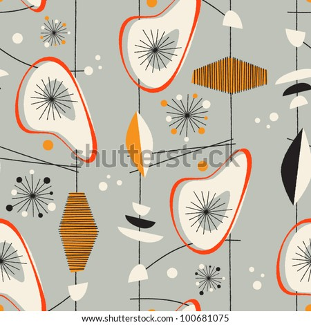 Seamless vintage pattern - Vector EPS10. - stock vector