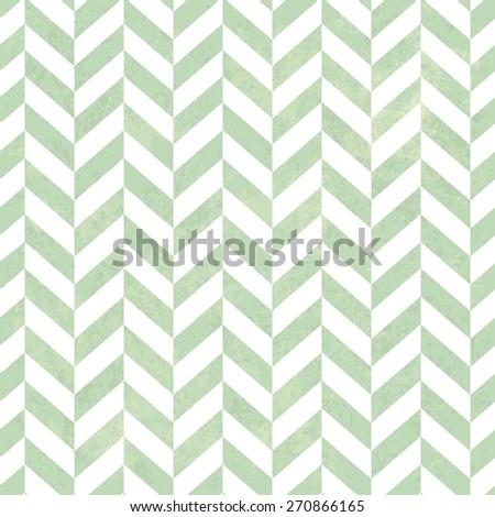 Seamless Vintage ZigZag Pattern. With Grunge Textured Background. - stock vector