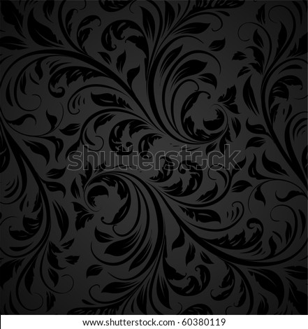 Seamless wallpaper pattern, vector - stock vector