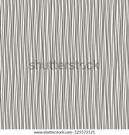 Seamless wavy pattern. Repeating vector texture. Stylish ripply background - stock vector