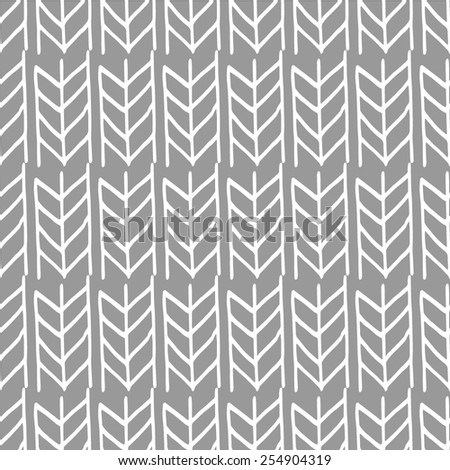 seamless weaving braids chevron - stock vector