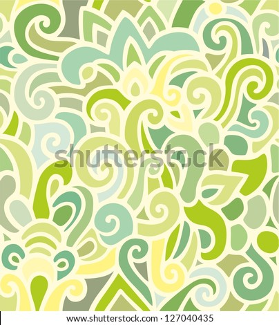 Seamless weaving pattern - stained glass  - stock vector