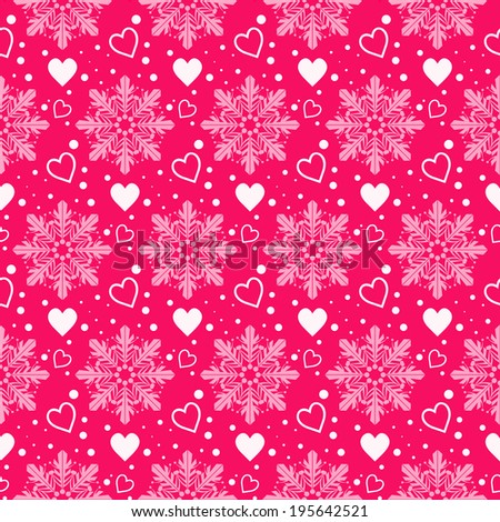 Seamless winter pattern texture. Christmas background. paper for packing Christmas gifts. Vector illustration. - stock vector