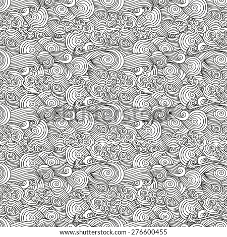 Seamless woven pattern - stock vector