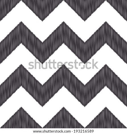 seamless zig zag pattern - stock vector
