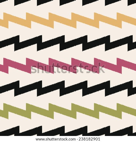 seamless zigzag fabric pattern