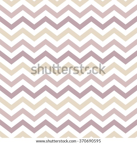 Seamless Zigzag pattern in pastel colors. Vector background - stock vector