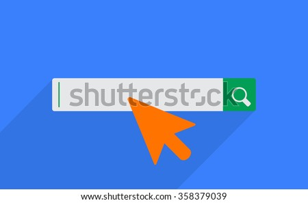 search bar.vector illustration.  - stock vector