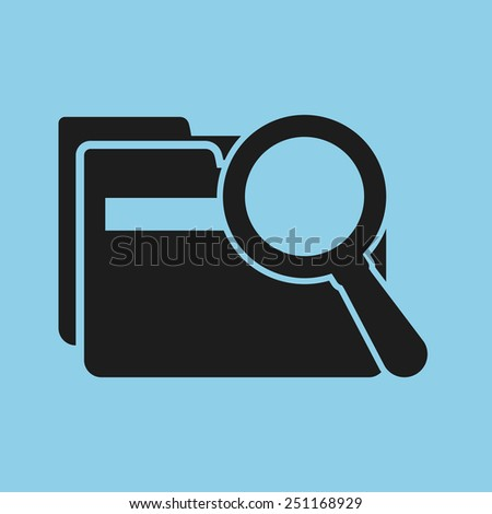 search data design, vector illustration eps10 graphic  - stock vector
