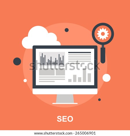 Search Engine Optimization - stock vector