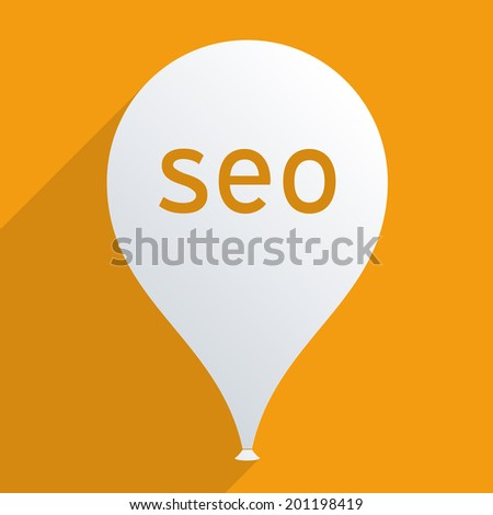 Search engine optimization concept. Flat design illustration. - stock vector