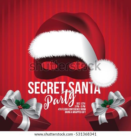 Secret Santa Stock Images Royalty Free Images Vectors