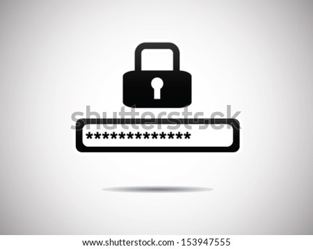 Security Form - stock vector