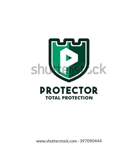 Security Logo Symbol Design Template Letter Stock Vector 397090444