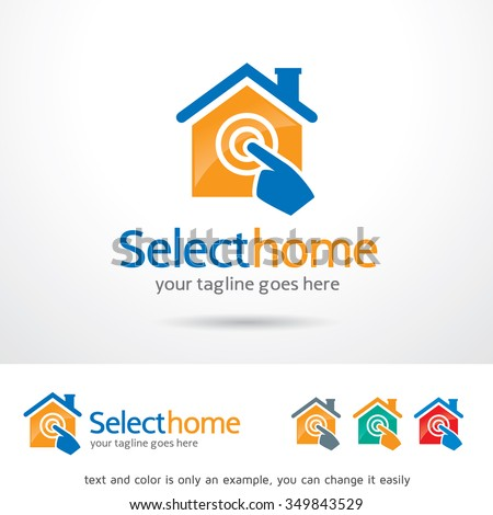 House Repair Logo Template Design Vector Stock Vector 476171161 ...