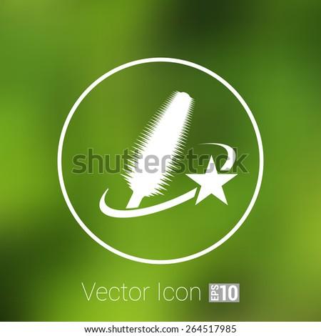Selection of various mascara brushes mascara brush beauty - stock vector