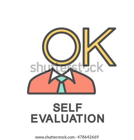 Self Evaluation Stock Vectors Images  Vector Art  Shutterstock