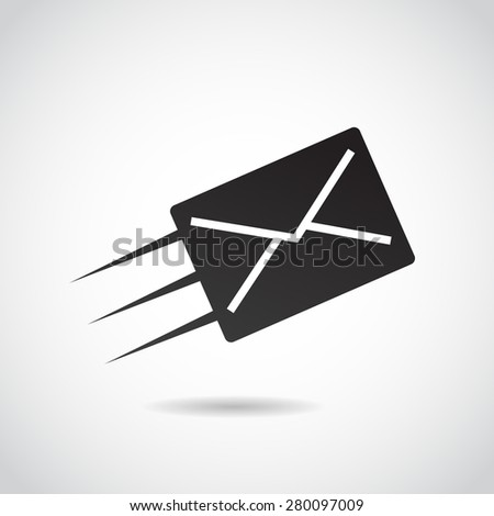 Send icon isolated on white background. Vector art. - stock vector