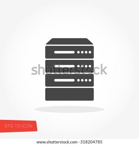 Server Icon / Server Icon Vector / Server Icon Picture / Server Icon Image / Server Icon Graphic / Server Icon Art / Server Icon JPG / Server Icon JPEG / Server Icon EPS / Server Icon AI - stock vector