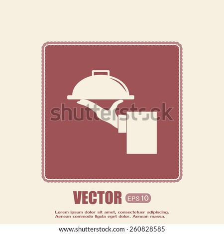 Service Concept. Flat Style. Vector Illustration - stock vector
