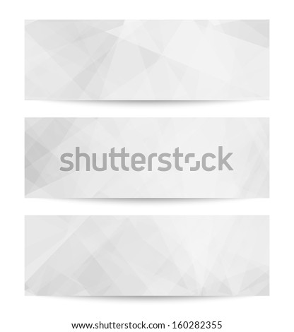 Set Abstract backgrounds. EPS 10 vector illustration. Used opacity mask and transparency layers of background - stock vector