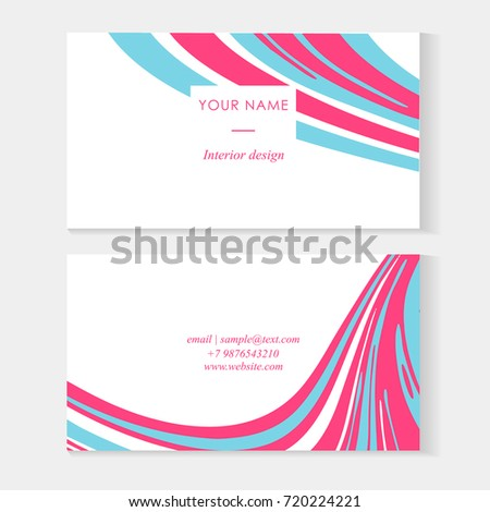 Set abstract business cards tamplate liquid stock photo photo set abstract business cards tamplate with liquid lines marble effect vector illustration vector colourmoves