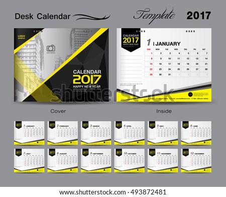 Corporate Desk Calendar Template Psd Download 2018