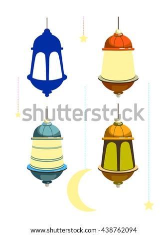 Good Moon Star Light Eid Al-Fitr Decorations - stock-vector-set-lamp-of-a-star-and-the-moon-ornament-for-a-muslim-holiday-ramadan-kareem-eid-al-fitr-438762094  Best Photo Reference_693196 .jpg