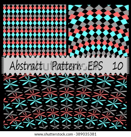 set of abstract pattern