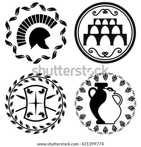 Ancient Shield Symbols