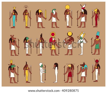 Egyptian Gods Stock Images, Royalty-Free Images & Vectors ...