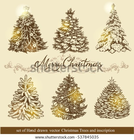 Beautiful Christmas Ornaments set beautiful christmas ornaments create holiday stock vector
