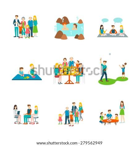 Big Family Dinner Clipart | www.pixshark.com - Images ...