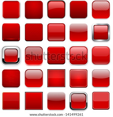 3d Square Button Stock Photos, Images, & Pictures ...