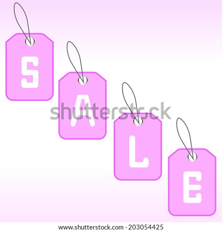 Set of bright labels for sale. Here you can write the price, promotions, discounts. Vector illustration.  - stock vector