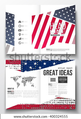 Stock images royalty free images vectors shutterstock for America brochure template