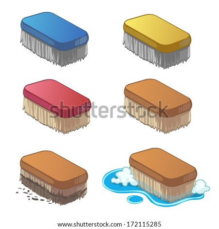 Scrub Brush Stock Images Royalty Free Images Amp Vectors