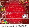 Set of christmas banners - stock vector