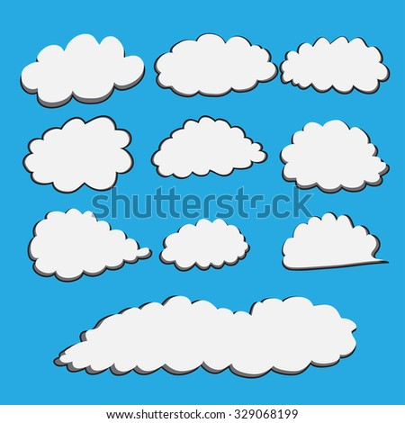 how to make cartoon clouds in illustrator
