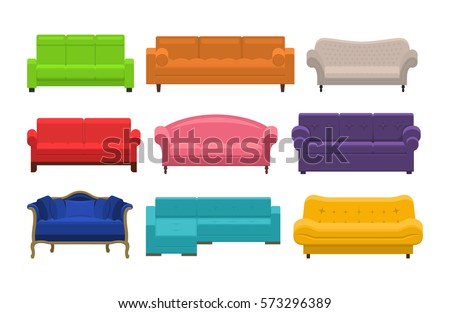 Couch stock images royalty free images vectors for Sofa zeichnen