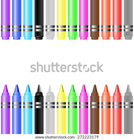 set of Crayon