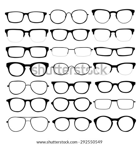 Types Of Glasses Frames Shapes : Glasses Stock Images, Royalty-Free Images & Vectors ...