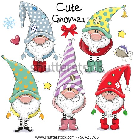 Gnome stock images royalty free images vectors shutterstock - Clipart weihnachtswichtel ...