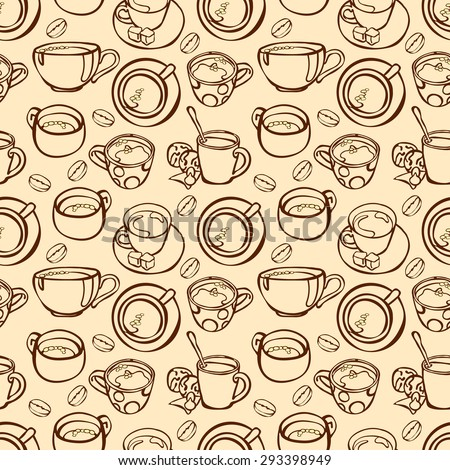 Coffee Wallpaper Stock Images RoyaltyFree Images Vectors