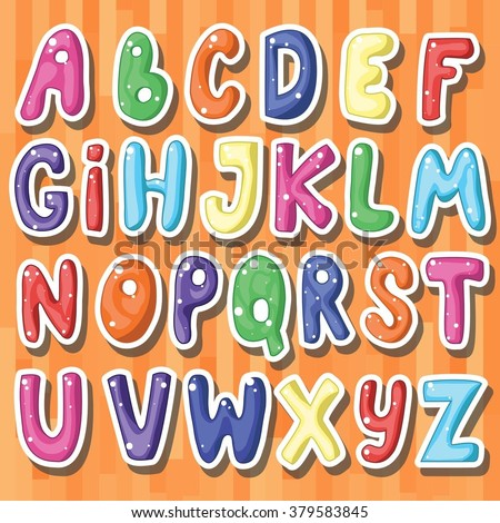 Cartoon Alphabet Stock Images, Royalty-Free Images & Vectors ...
