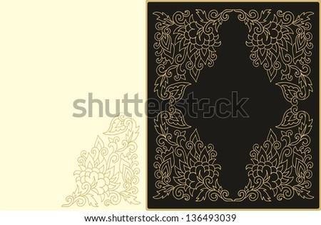 Batik Vector Stock Photos, Illustrations, and Vector Art