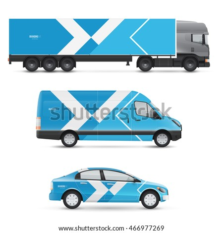 Vehicle graphics stock images royalty free images for Free vehicle wrap templates